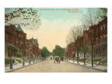 Grace Avenue, Richmond, Virginia Prints