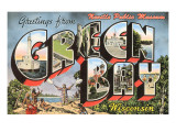 Greetings from Green Bay, Wisconsin Posters