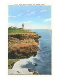 Point Loma Lighthouse, San Diego, California Print