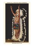 Indianische Zeremonie, Wisconsin Dells Poster