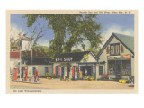 Gift Shop, Alton Bay, New Hampshire Posters