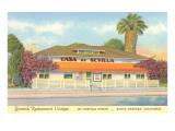 Casa de Sevilla, Santa Barbara, California Art