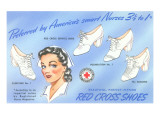Selection of Nurses' Shoes Poster