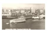 Streamlined Ferry, Seattle, Washington Poster