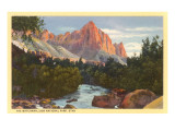 Watchman, Zion National Park, Utah Prints