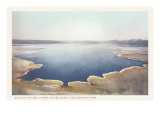 Big Blue Spring, Yellowstone National Park Poster