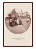 Boardwalk, Hotel del Coronado, San Diego, California Posters