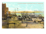Harbor on Mississippi, La Crosse, Wisconsin Posters