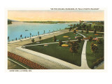 Levee Park, La Crosse, Wisconsin Poster