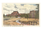 Old Faithful Inn, Yellowstone National Park Print