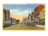 High Street, Portsmouth, Virginia Kunstdruck