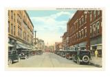 Church Street, Burlington, Vermont Posters