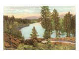 Spokane River, Spokane, Washington Poster