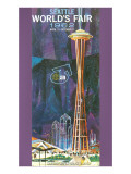 Space Needle, Seattle World's Fair Posters