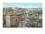 View over San Francisco, California Prints