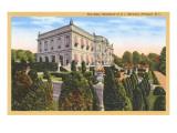 The Elms, Berwind Residence, Newport, Rhode Island Art