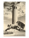 Coit Memorial Tower, San Francisco, California Posters