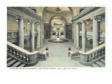 Staircases, State Capitol, Salt Lake City, Utah Poster