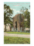 First English Church, Jamestown, Virginia Prints