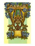 Art Nouveau March, Aries Posters