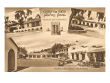 Casa de Pico Motel, Old Town, San Diego, California Posters