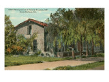 General Fremont's Headquarters, Santa Barbara, California Prints