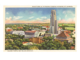 Masonic Temple, Cathedral of Learning, Pittsburgh, Pennsylvania Prints