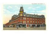 Hotel Brooks, Brattleboro, Vermont Prints