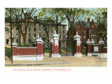 Van Wickle Gate, Brown University, Providence, Rhode Island Prints