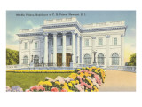 Marble Palace, Prince House, Newport, Rhode Island Posters