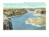 Guernsey Lake, North Platte River, Wyoming Posters
