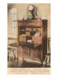 Monroe's Desk, Fredericksburg, Virginia Art