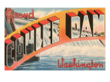 Grand Coulee Dam, Washington Posters