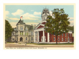 Post Office, Courthouse, Montpelier, Vermont Prints