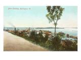 Boat Landing, Burlington, Vermont Posters
