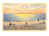 Sunrise on Ocean View, Virginia Posters