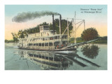 Mississippi Riverboat Betsey Ann Posters