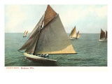 Yacht Race, Madison, Wisconsin Posters