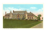 The Chateau, Middlebury, Vermont Prints