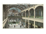 Plankinton Arcade, Milwaukee, Wisconsin Prints