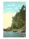Rock Point, Lake Champlain, Burlington, Vermont Poster