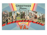 Greetings from Petersburg, Virginia Prints