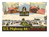 Little King's Hotel Court, Joplin, Missouri Prints