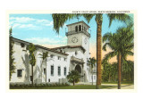 County Courthouse, Santa Barbara, California Prints