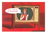 Television Personality Prints