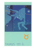Taurus, the Bull Prints