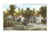Rubio Plaza, Santa Barbara, California Posters