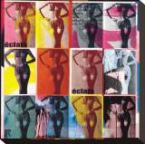 Eclats II Reproduction transférée sur toile par Paul Raynal