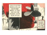 Queen Mary Propellers Posters