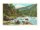 Goshen Pass, Virginia Print
